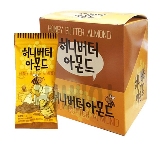 길림양행 탐스 허니버터 아몬드 30g x 12봉 (1박스), 1세트
