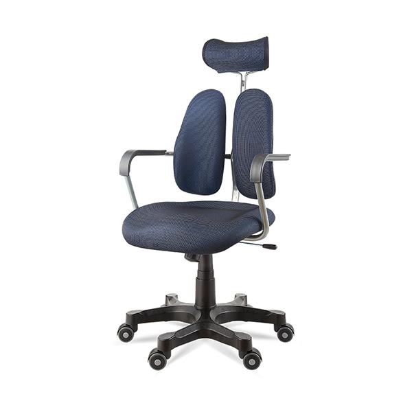듀오백 DK 2600 패브릭의자 책상의자 사무용의자 본사직영, 블루