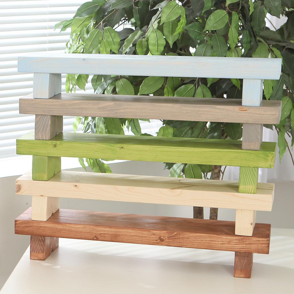 [와우리빙] 원목 화분 받침대 진열대 다육이선반 정리대 인테리어, 09-호두나무