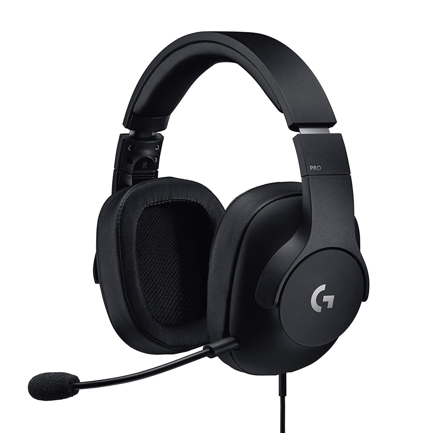 로지텍 서라운드사운드 게임 헤드셋(G933 G633 G533 G PRO)유 무선 새상품 정품 미국직배송, 블랙(유선), G Pro