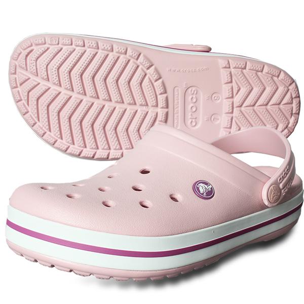 크록스 크록밴드 11016-6MB 핑크 남여샌들&슬리퍼