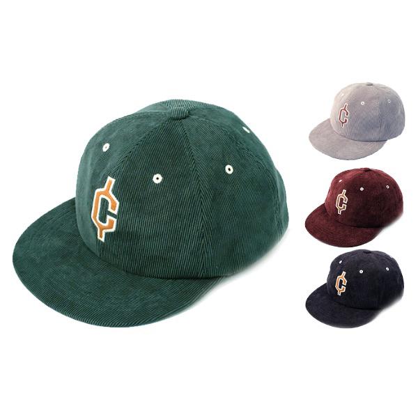클레프 C코드 플랫 V캡 / 겨울 모자, 네이비