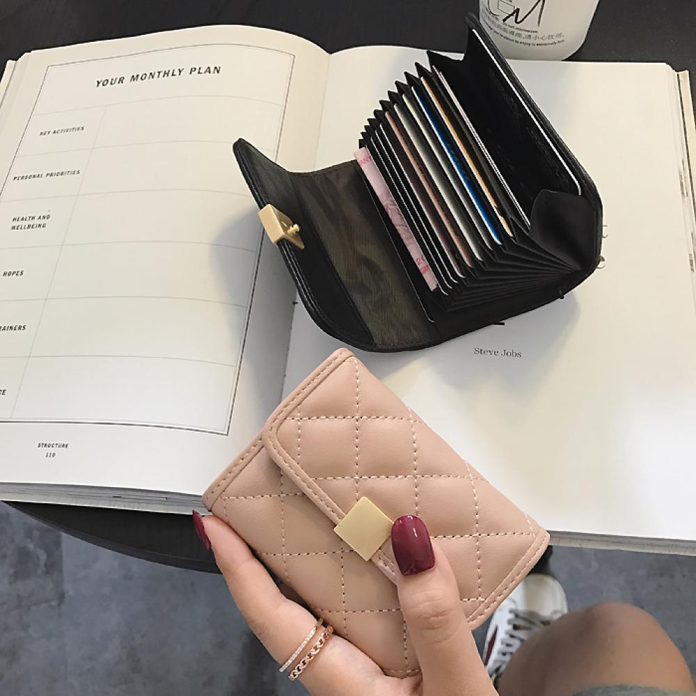 여성 카드 지갑 웰렛 패션 케이스 142 AUgefrt + 덧신 증정