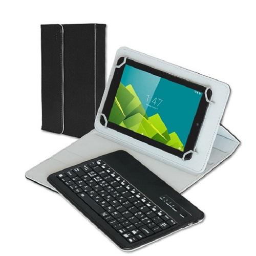 코시 블랙 7형 8형 블루투스 태블릿PC 케이스키보드 무선키보드, 7형 8형 블루투스 케이스키보드