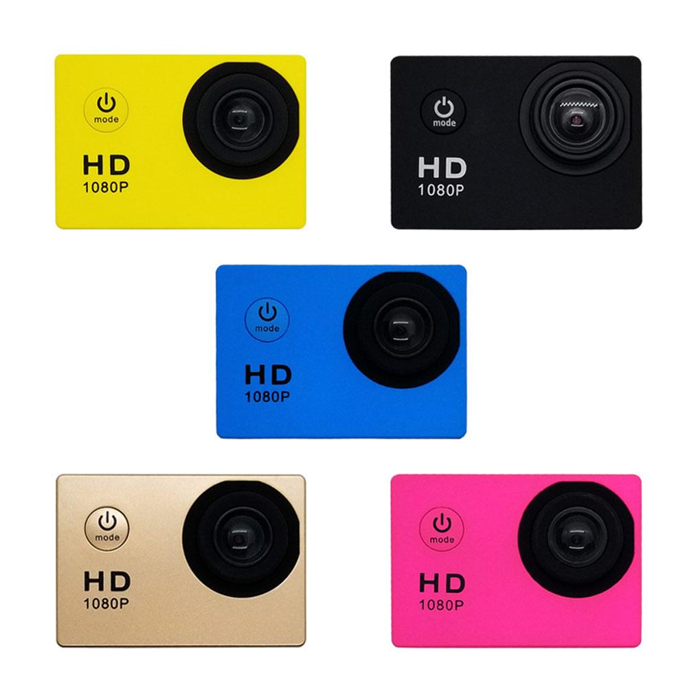 가성비 갑 FULL HD 디지털 초소형 방수 액션캠 휴대용 카메라, 블랙