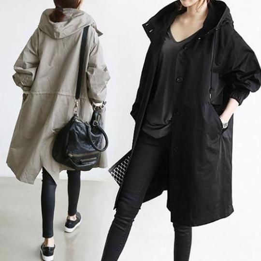 제이민 베이직 데일리 사파리 자켓 여성 야상자켓