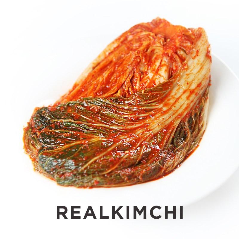 [레알김치] Real 전라도 포기김치(배추김치), 5kg, 1개