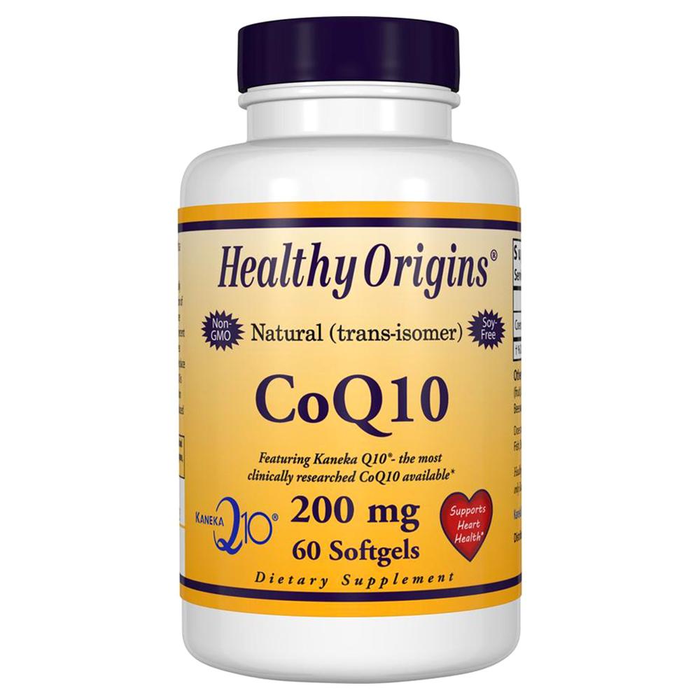 Healthy Origins CoQ10 200mg 소프트젤, 60개입, 1개
