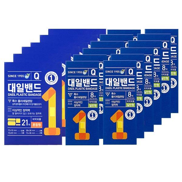 대일밴드 대용량 큐 일반 표준형 96매+혼합형 126매 (POP 5237743002)