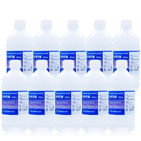 대한약품 정제한물 1000ml x 10개(1박스), 1box