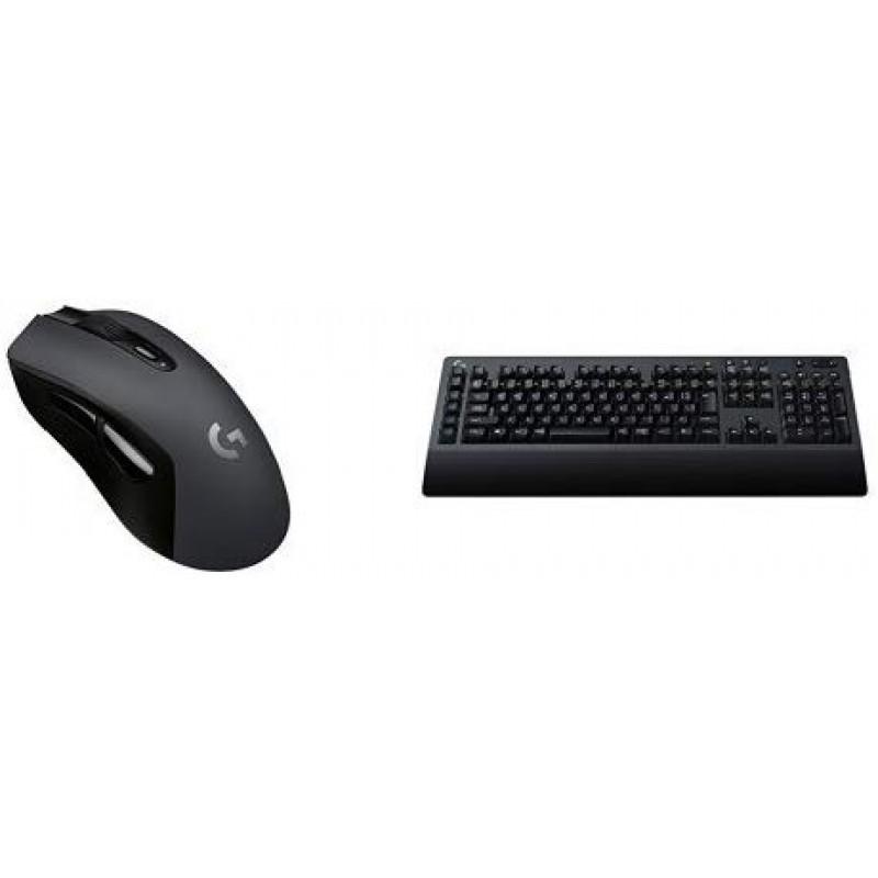 [로지텍 최신 LIGHTSPEED 무선 게이밍 마우스 & 키보드 세트] G603 + G613