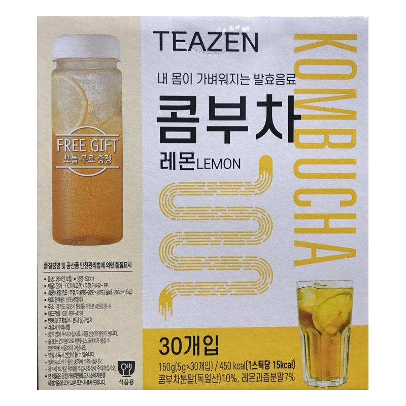 티젠 레몬콤부차5gX30개입+냉온보틀, 30개