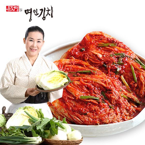 [유정임] 식품명인 포기김치, 10kg, 1개