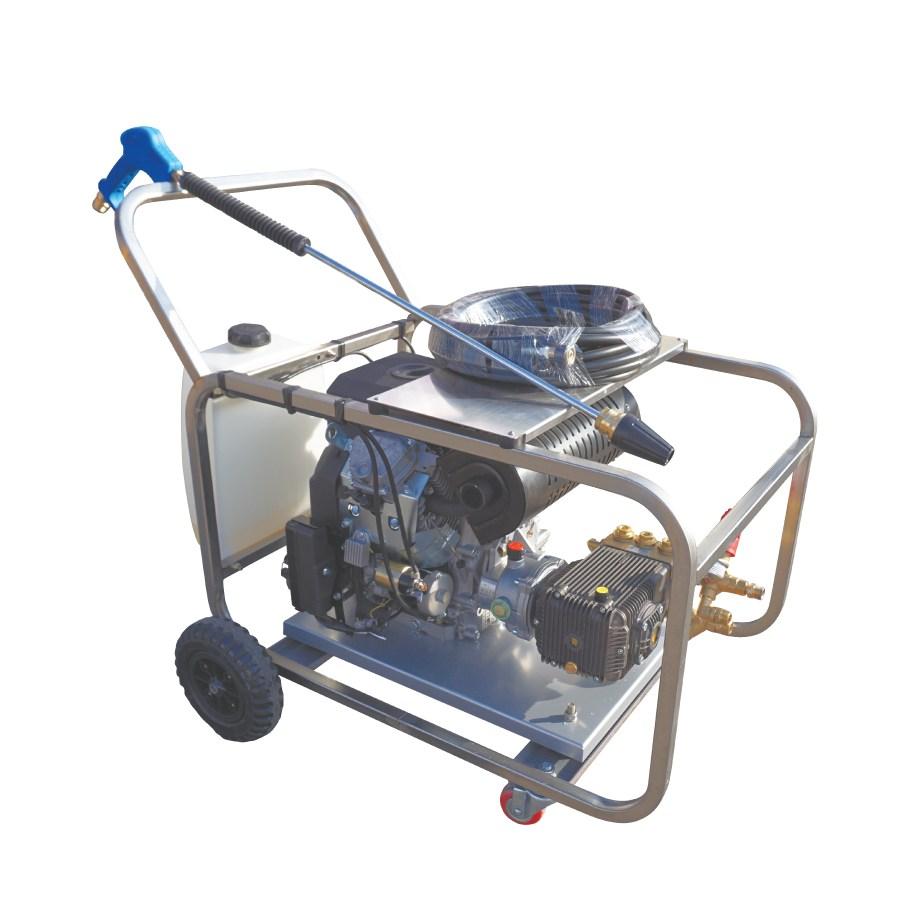 야마비시 엔진고압세척기 YKG2-350 25마력 350바 정품 아노비펌프 채용