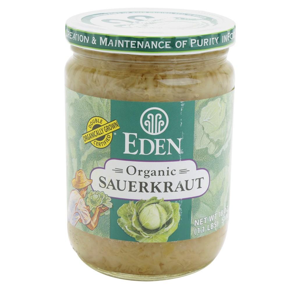 Eden Foods 사우어크라우트, 510g, 1개