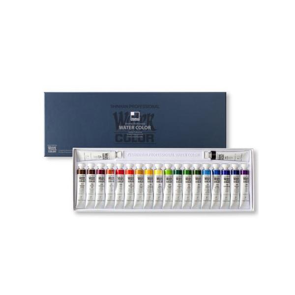 [코리아문구사] 신한화구 신한 수채화물감 전문가용 12ml 20색