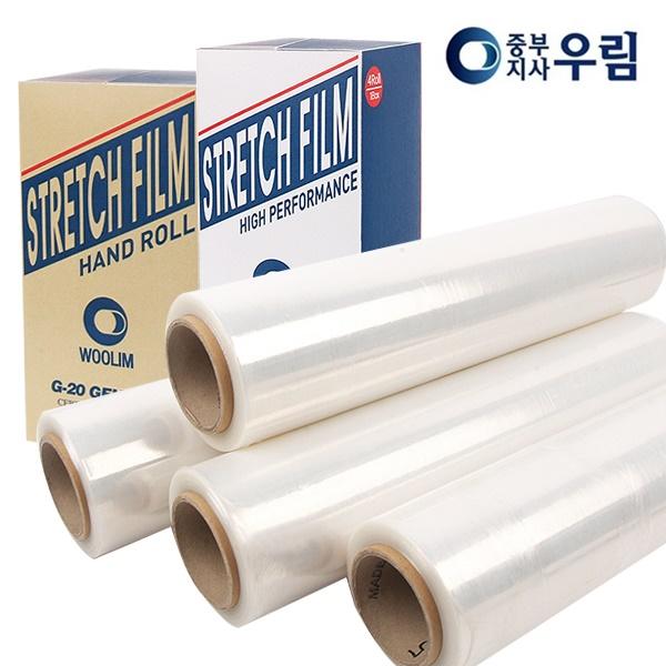 봉구유통 스트레치필름, 스트레치필름18(1BOX4롤), 1개
