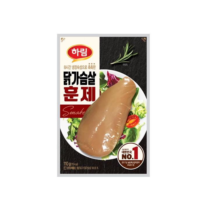 하림 닭가슴살 훈제, 100g, 10개 (POP 199569263)