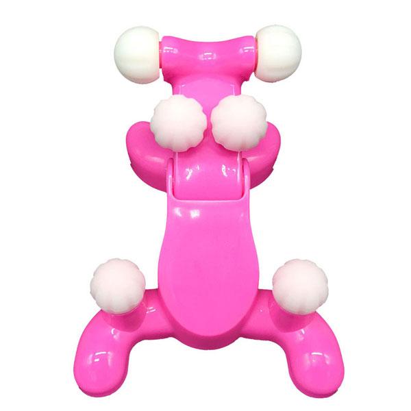 도매창고 NECKQUEEN 경추 목안마기 마사지기 넥퀸 거북목 관리, 핑크, 1개