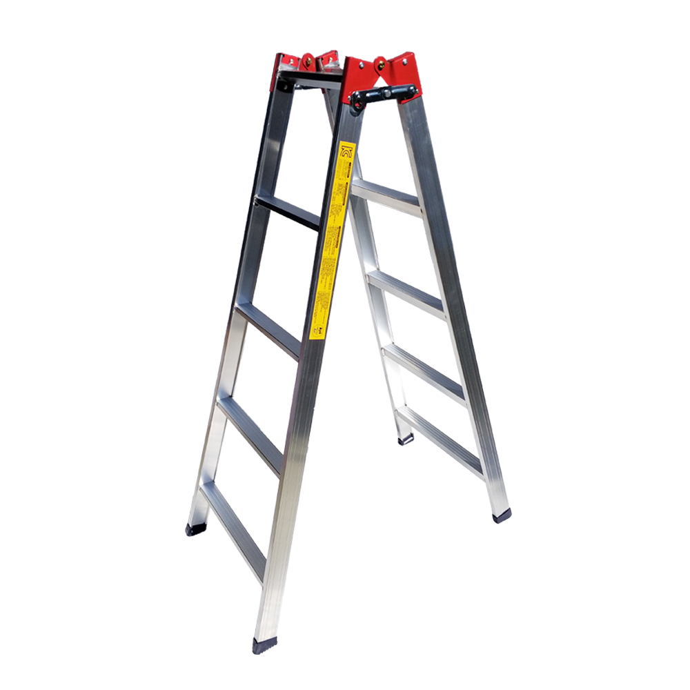 사다리 가정용 상업용 접이식 알루미늄 AH형 3단사다리, 5단 (POP 124775962)