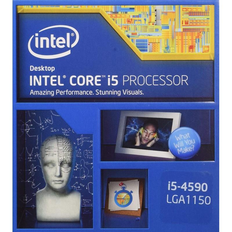Intel CPU Core-i5-4590 6M 캐시 3.30GHz LGA1150 BX80646I54590 [BOX], 단일상품