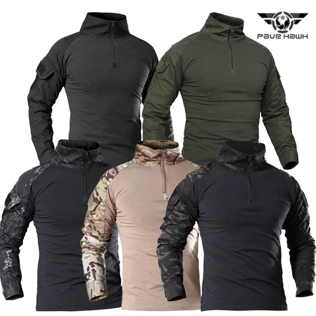 PAVE HAWK 택티컬 컴뱃 셔츠(Tactical Combat Shirts)