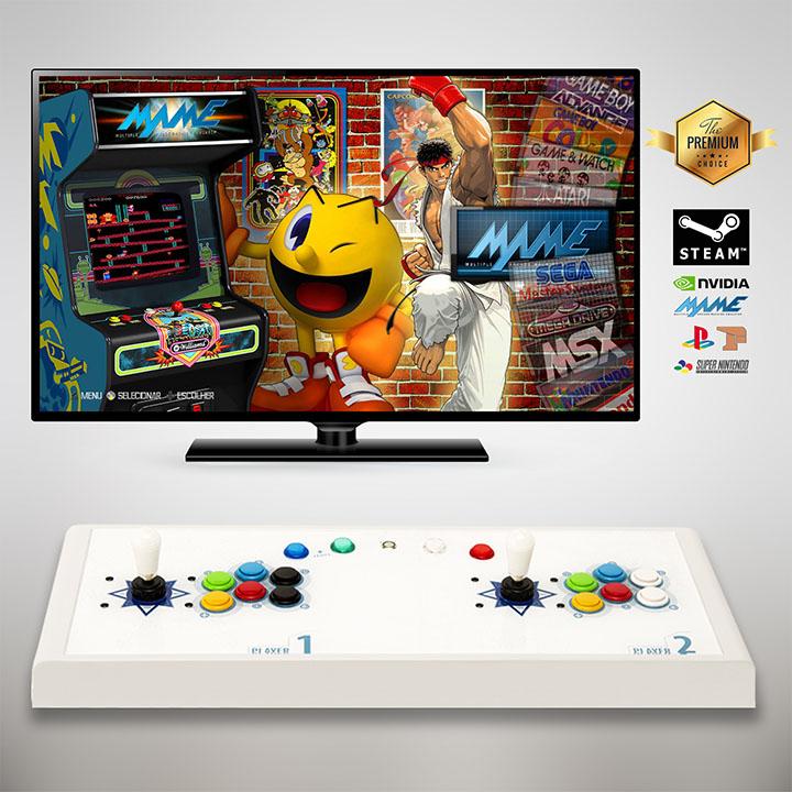도담레트로 아케이드 가정용 오락실 게임기 A-MARK ZERO 레트로 고전게임, A-MARK ZERO (스페셜형/스노우화이트)