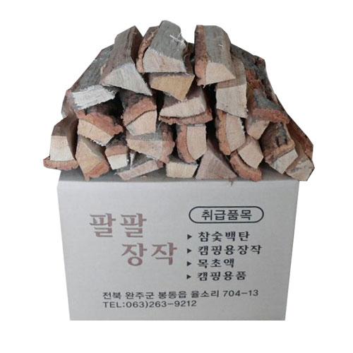 팔팔 장작 (4시당일발송)참나무장작20kg 10kg, 선택3)장작8~11kg(박스포장)/30cm길이