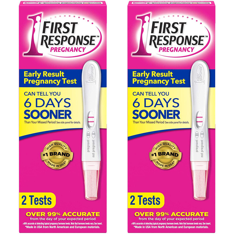 First Response Early Result Pregnancy Test 임신테스트기 2개입 2팩