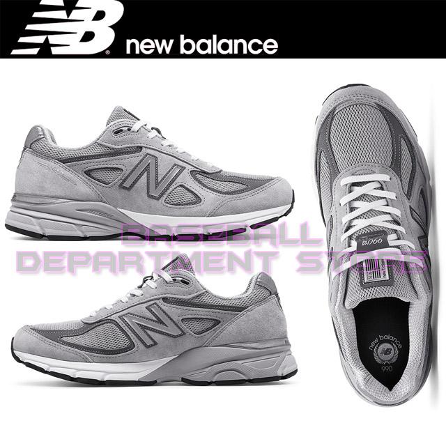 [New balance]뉴발란스 100%정품 국내 당일발송 뉴발란스 990v4 남성용 운동화 M990GL4 (그레이)