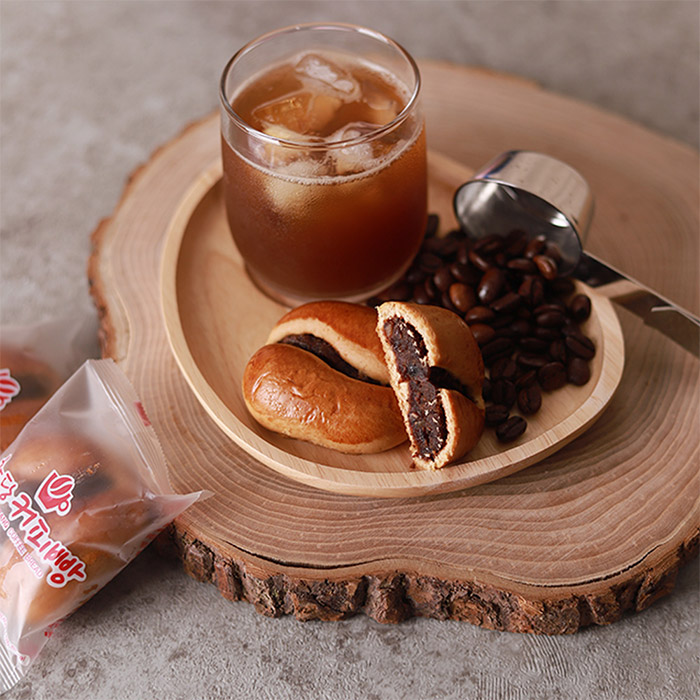 우체국쇼핑 강원도 강릉 김재범님의 초당 커피빵(40g*8개), 40g, 8개