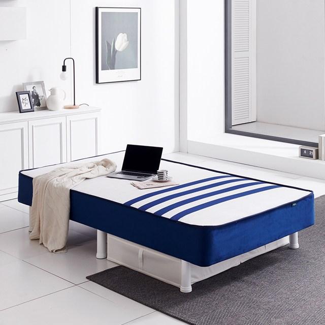 랍슨디자인 쿠아트로 일체형 원룸 침대, 화이트발통