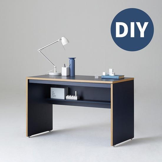 한샘 샘 책상 120cm 일반형 DIY, 색상:메이플(B)