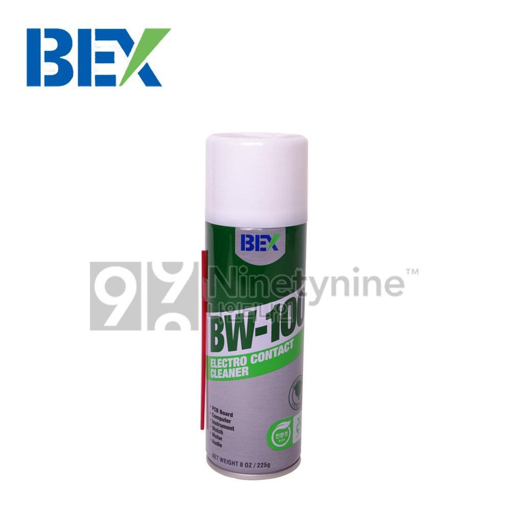 BEX BW-100 225g 6개/WD/전기/접점/부활제/먼지제거/세정제/세척/정밀기기/전자장비/컴퓨터/전자회로/450ml/360ml/SS/220ml/120ml/78ml/35ml