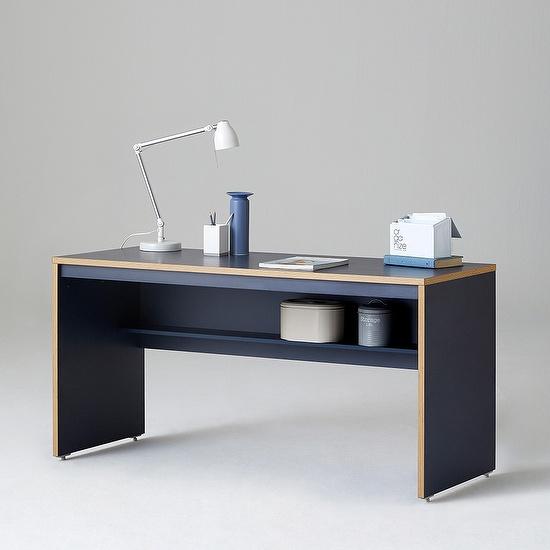 한샘 샘 책상 150cm 일반형 시공, 색상:메이플(B)
