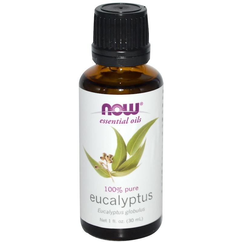 Now Foods 100% Pure 유칼립투스 에센셜 오일, 30ml, 1개