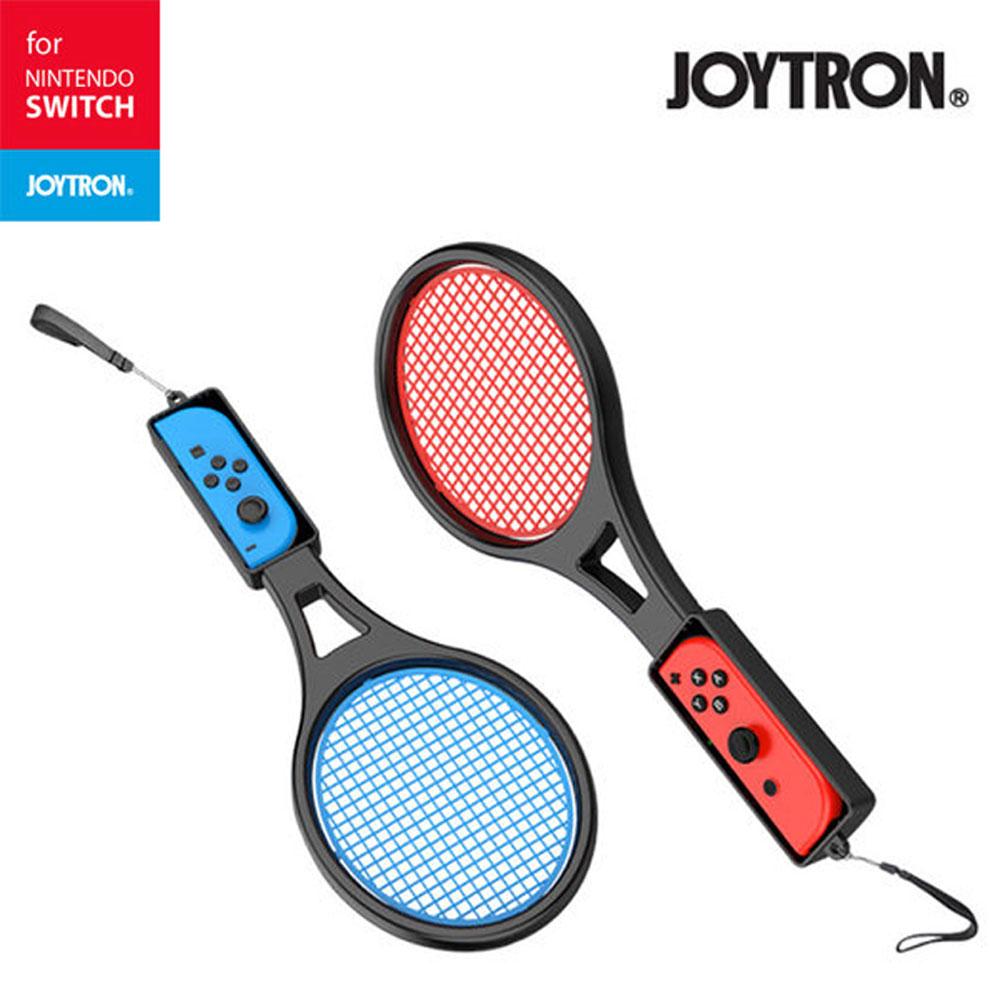 닌텐도 스위치 조이트론 조이콘 테니스 라켓 블랙2p, 없음, 블랙 2P