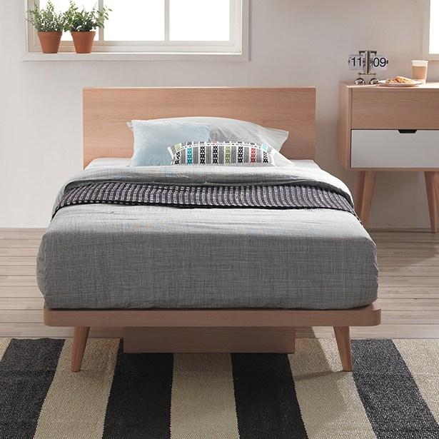 리바트온라인 토스트 네츄럴 슈퍼싱글 침대(엔슬립 E1 SS), 단일상품