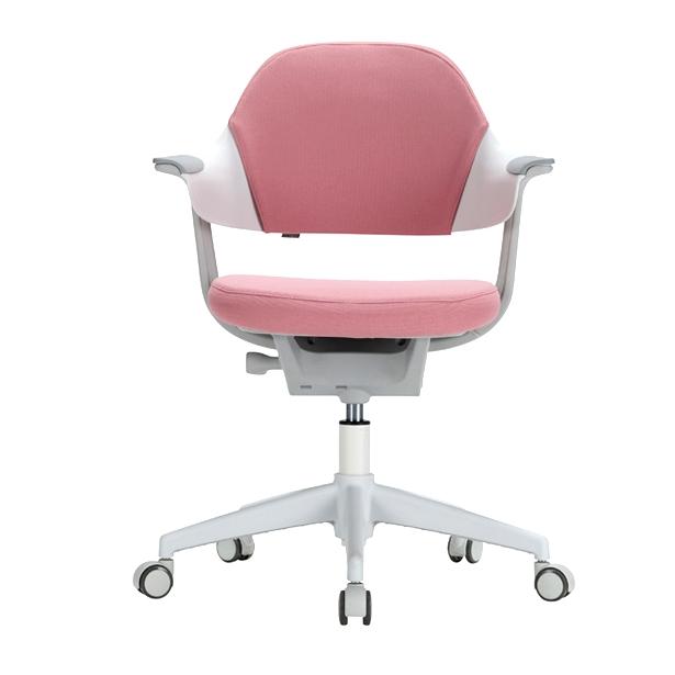 리바트온라인 그로잉 학생 의자 (무회전중심봉+일반캐스터), 좌판 인조가죽 민트
