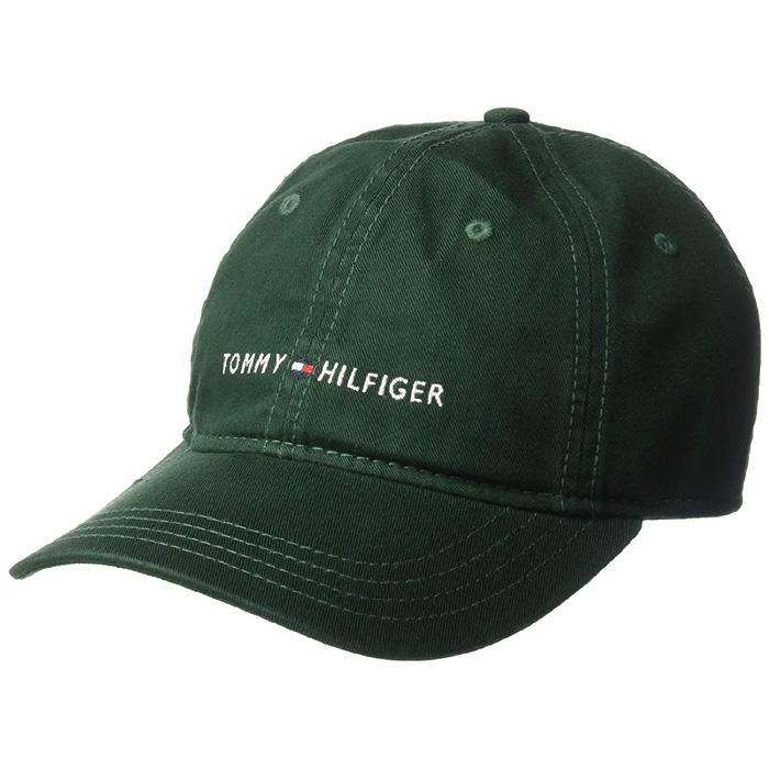 타미힐피거모자-Tommy Hilfiger Mens Logo Dad Baseball Cap-Pine Grove-p20