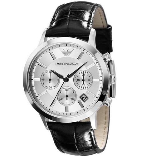 엠포리오 아르마니 영국직배송 AR2432 가죽 남성패션 럭셔리 손목시계 남성인기시계