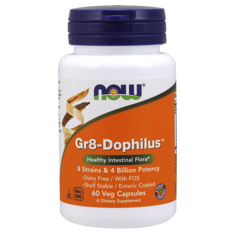 나우푸드 Gr8-도필러스 유산균 베지 캡슐, 60개입, 1개