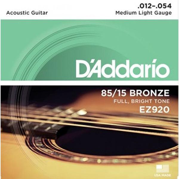Daddario EZ920 통기타줄 012-054