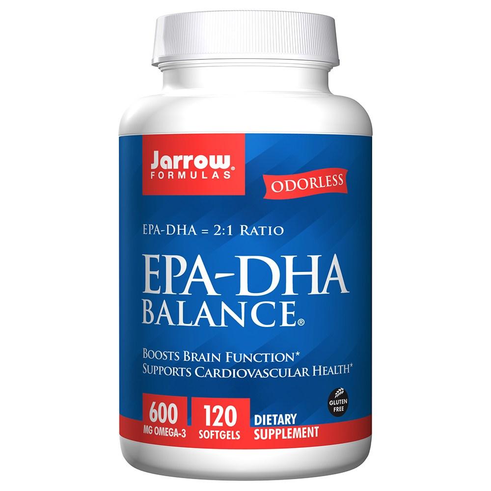 재로우 EPA-DHA 밸런스 600mg 소프트젤 글루텐 프리, 120개입, 1개