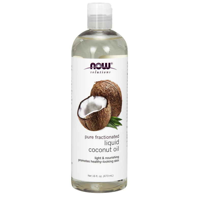 Now Foods 리퀴드 코코넛 오일, 473ml, 1개