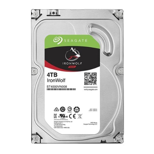 시게이트 아이언울프 나스하드 NAS HDD, 4TB