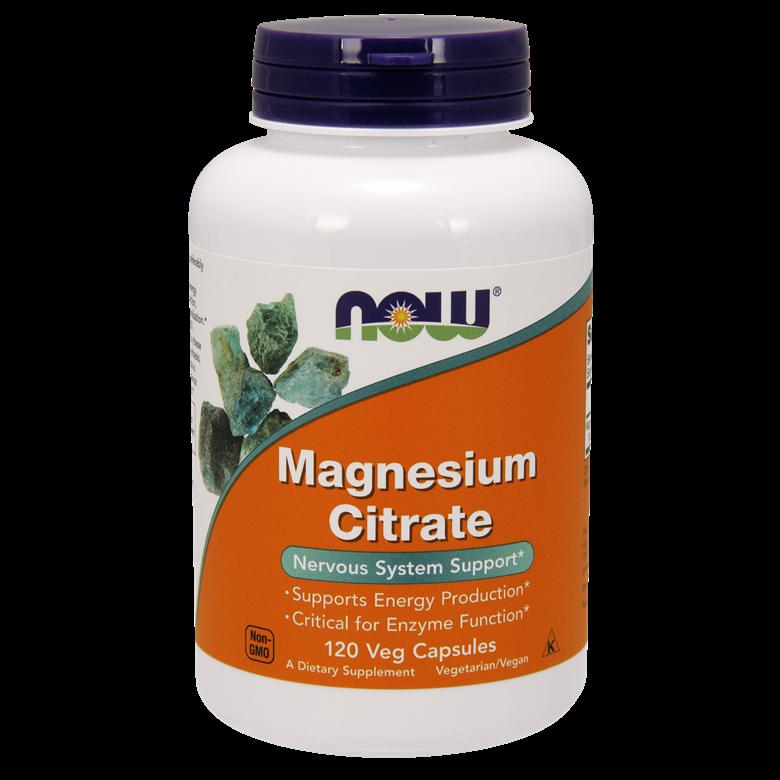 나우푸드 마그네슘 시트레이트 베지 캡슐, 120개입, 1개