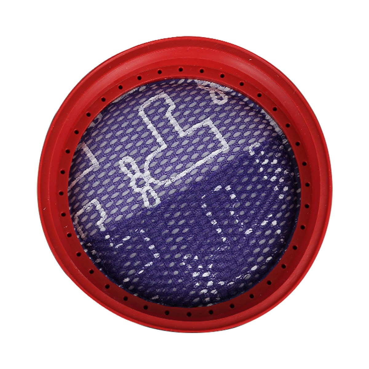 디베아 청소기 필터 C17 D18 DW200 M500 2매, 디베아 청소기 필터 D18 2매