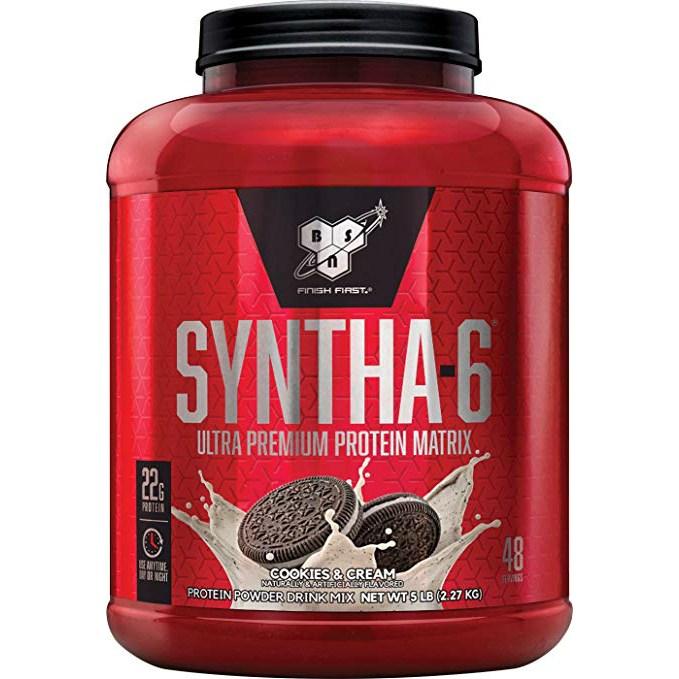 비에스엔 신타-6 프로틴 파우더 드링크 믹스 단백질 보충제, 2.27kg, 1개