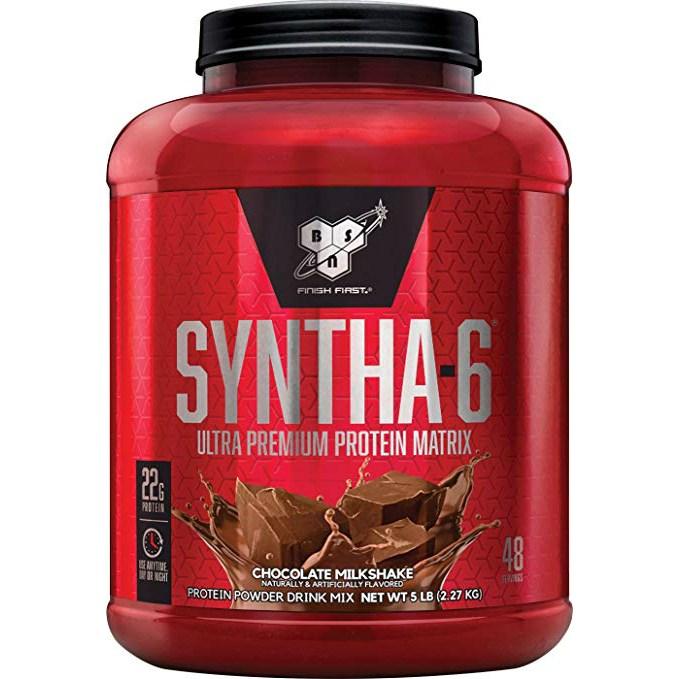 비에스엔 신타-6 프로틴 파우더 드링크 믹스 단백질 보충제, 초콜릿 밀크셰이크(Chocolate Milkshake), 2.27kg